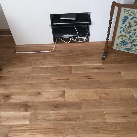 Solid Oak Floor Fitting